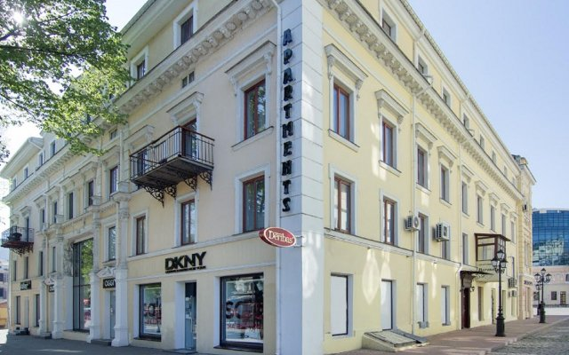 Апартаменты Дерибас вид на фасад