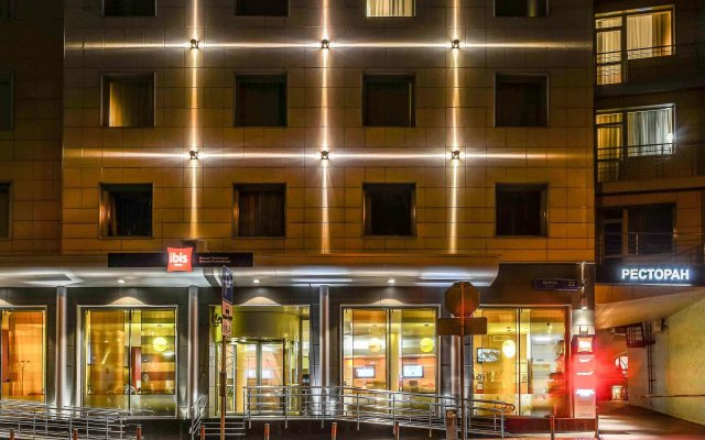 Гостиница Ибис Москва Павелецкая вид на фасад