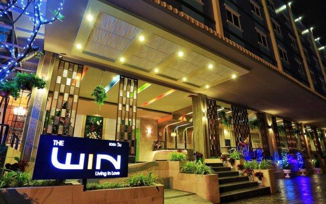 Отель The Win Pattaya вид на фасад