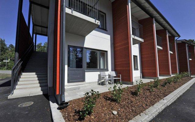 Апартаменты Forenom Apartments Espoo Lintuvaara вид на фасад
