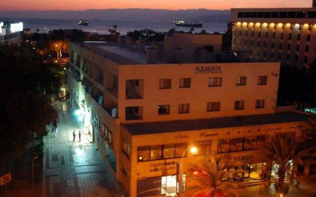 Aquavista Hotel & Suites вид на фасад