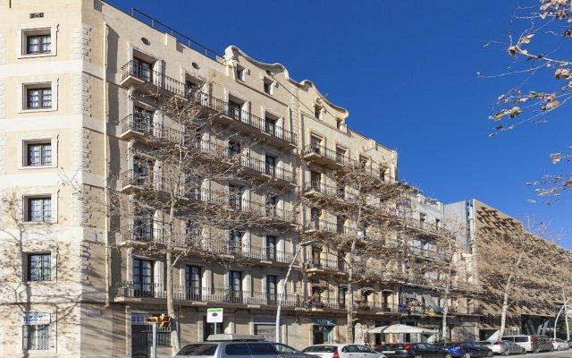 Апартаменты Aspasios Poblenou Apartments вид на фасад