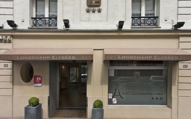Отель Longchamp Elysées вид на фасад