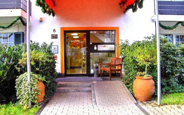 Отель acora Hotel und Wohnen Германия, Дюссельдорф - отзывы, цены и фото номеров - забронировать отель acora Hotel und Wohnen онлайн вид на фасад