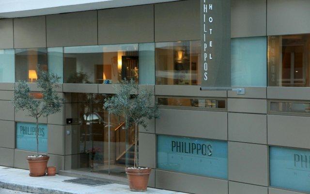 Philippos Hotel Афины вид на фасад