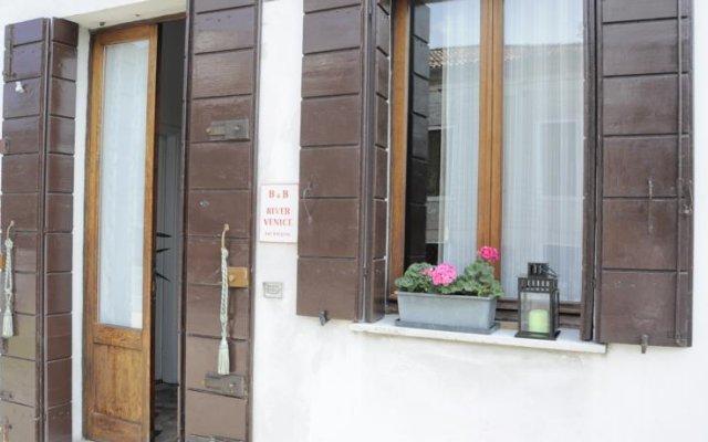 Отель Bandb River Venice Доло вид на фасад