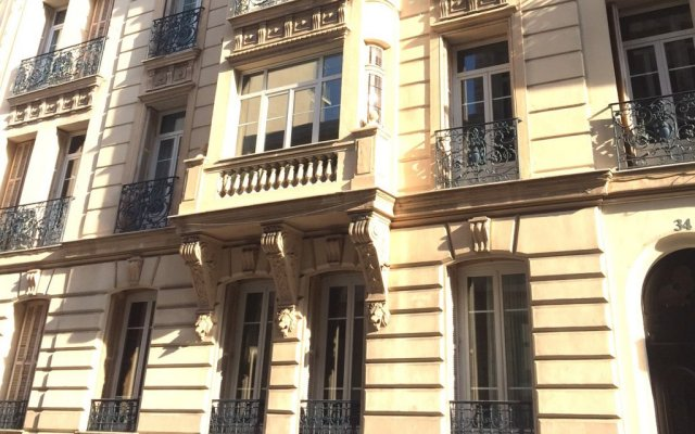 Отель Residence Lamartine вид на фасад