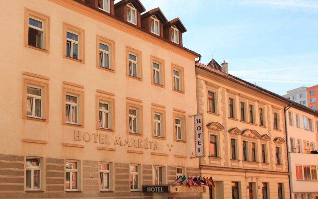 Отель Marketa Чехия, Прага - 3 отзыва об отеле, цены и фото номеров - забронировать отель Marketa онлайн вид на фасад