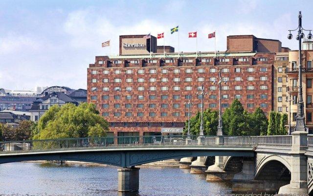 Отель Sheraton Stockholm Hotel Швеция, Стокгольм - 2 отзыва об отеле, цены и фото номеров - забронировать отель Sheraton Stockholm Hotel онлайн вид на фасад