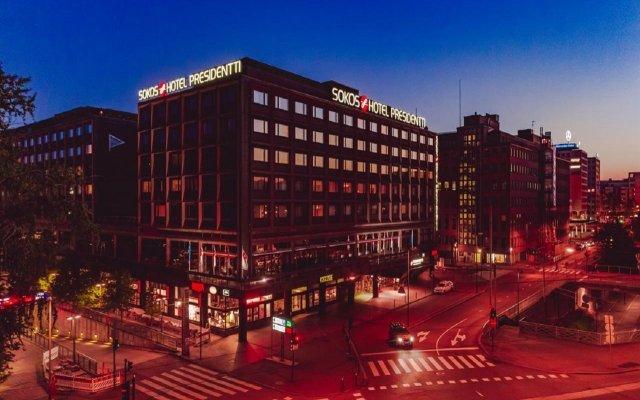 Original Sokos Hotel Presidentti вид на фасад