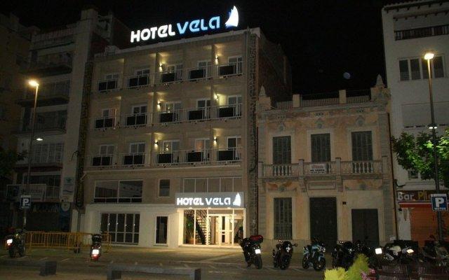 Отель Vela Испания, Курорт Росес - отзывы, цены и фото номеров - забронировать отель Vela онлайн вид на фасад