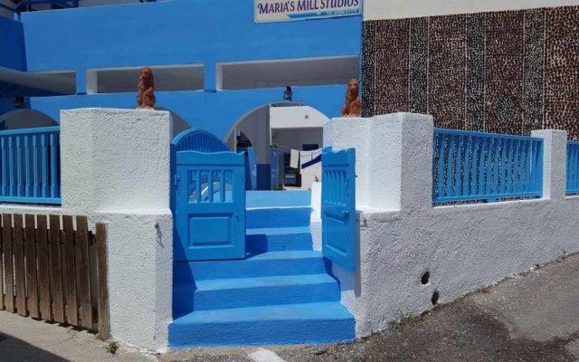 Отель Maria Mill Studios Греция, Остров Санторини - 1 отзыв об отеле, цены и фото номеров - забронировать отель Maria Mill Studios онлайн вид на фасад