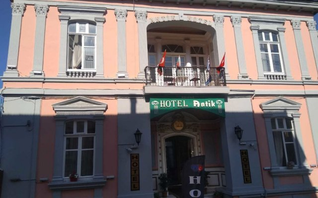 Antik Hotel вид на фасад