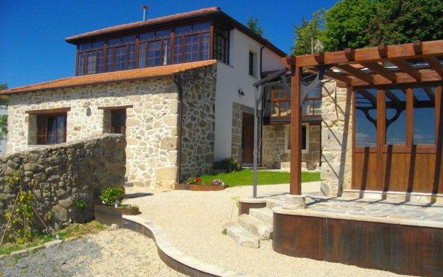 Отель O Canto da Terra Испания, Пантон - отзывы, цены и фото номеров - забронировать отель O Canto da Terra онлайн вид на фасад
