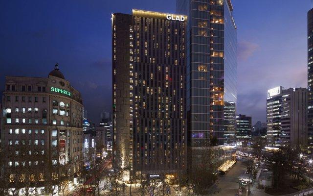 Отель GLAD Gangnam COEX Center вид на фасад