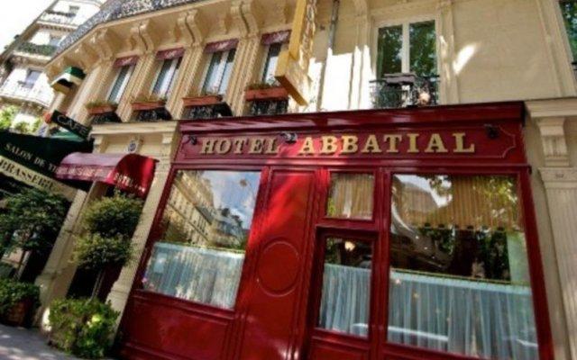 Отель Abbatial Saint Germain вид на фасад