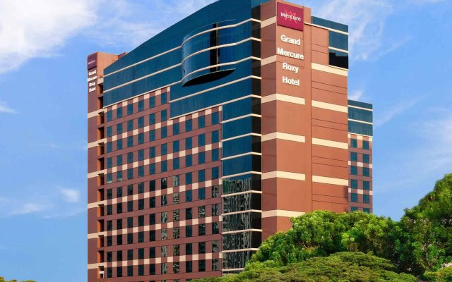 Отель Grand Mercure Singapore Roxy вид на фасад