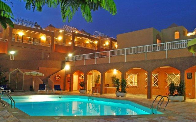 Отель Villas Monte Solana вид на фасад
