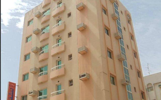 Отель Al Rawdha Hotel Flats ОАЭ, Шарджа - отзывы, цены и фото номеров - забронировать отель Al Rawdha Hotel Flats онлайн вид на фасад