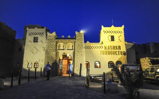 Отель Kasbah Hotel Tombouctou Марокко, Мерзуга - отзывы, цены и фото номеров - забронировать отель Kasbah Hotel Tombouctou онлайн вид на фасад