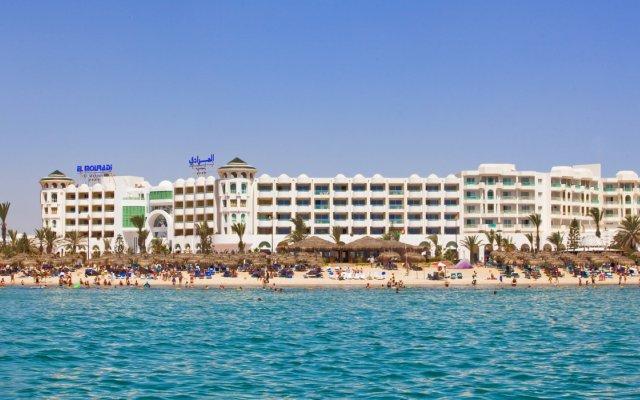 Отель El Mouradi Port El Kantaoui Сусс вид на фасад