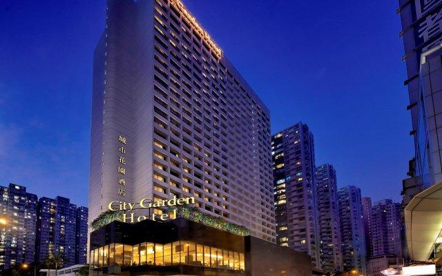 City Garden Hotel вид на фасад
