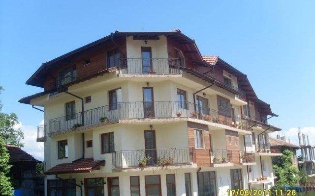 Hotel Gazei Банско вид на фасад