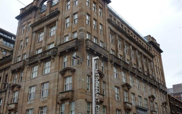 Апартаменты MAX Serviced Apartments Glasgow, Olympic House вид на фасад