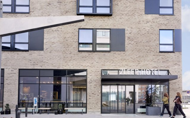 Zleep Hotel Aalborg вид на фасад