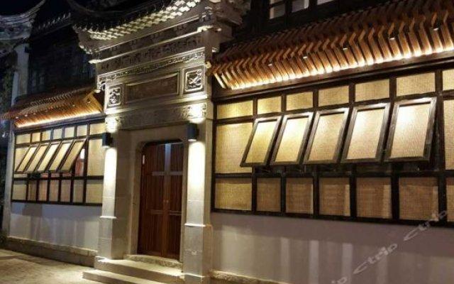 Отель Jiushu Xi'an Inn вид на фасад