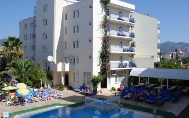 Отель Serin Мармарис вид на фасад