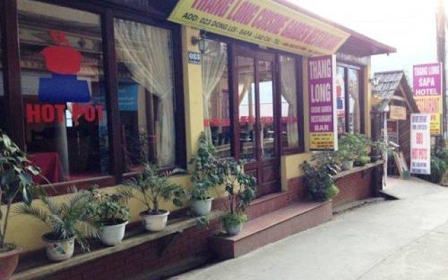 Отель Thang Long Sapa Hotel Вьетнам, Шапа - отзывы, цены и фото номеров - забронировать отель Thang Long Sapa Hotel онлайн вид на фасад