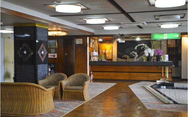 Hotel Kaikoen Камогава интерьер отеля