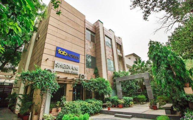Отель Fab Hotel Prime Shervani Индия, Нью-Дели - отзывы, цены и фото номеров - забронировать отель Fab Hotel Prime Shervani онлайн вид на фасад