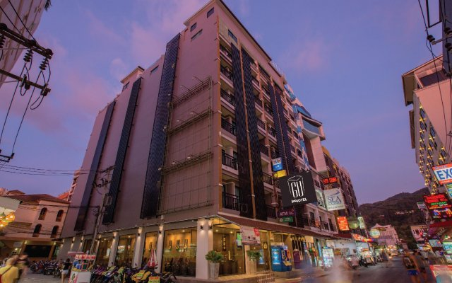 Gu Hotel вид на фасад
