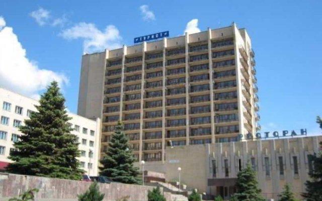 Гостиница Tourist Volgograd вид на фасад