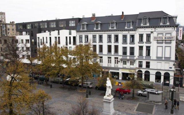 Отель Barry Бельгия, Брюссель - отзывы, цены и фото номеров - забронировать отель Barry онлайн вид на фасад