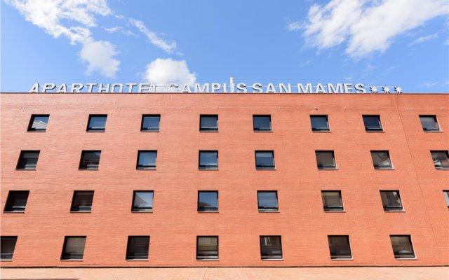 Отель Apartahotel Exe Campus San Mamés Испания, Леон - отзывы, цены и фото номеров - забронировать отель Apartahotel Exe Campus San Mamés онлайн вид на фасад
