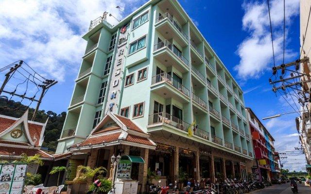 Отель SM Resort Phuket Пхукет вид на фасад