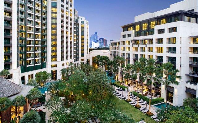 Отель Siam Kempinski Hotel Bangkok Таиланд, Бангкок - 1 отзыв об отеле, цены и фото номеров - забронировать отель Siam Kempinski Hotel Bangkok онлайн вид на фасад