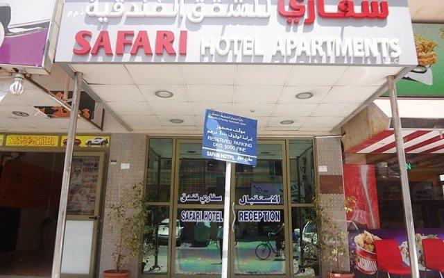Отель Safari Hotel Apartments ОАЭ, Аджман - отзывы, цены и фото номеров - забронировать отель Safari Hotel Apartments онлайн вид на фасад