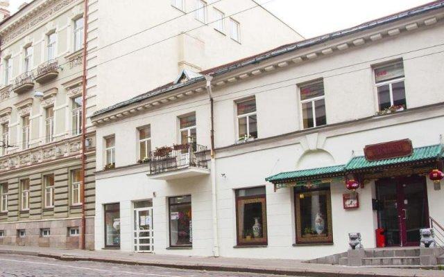 Отель In Astra Вильнюс вид на фасад