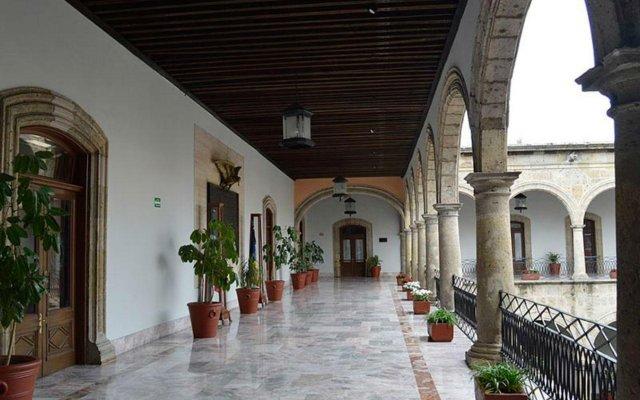 Hotel Nueva Galicia вид на фасад