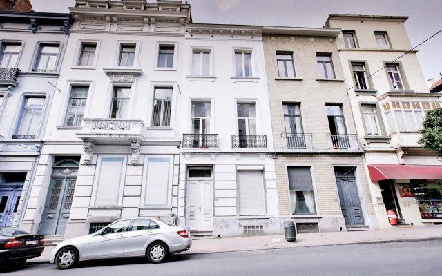 Отель Louise Uptown Apartments Бельгия, Брюссель - отзывы, цены и фото номеров - забронировать отель Louise Uptown Apartments онлайн вид на фасад