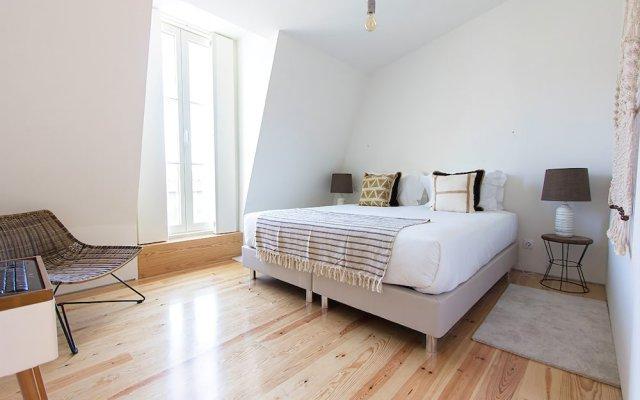 Отель Luxury T.M. Penthouse with a View Лиссабон комната для гостей