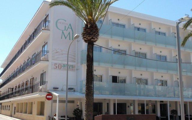 Отель Hostal Gami вид на фасад