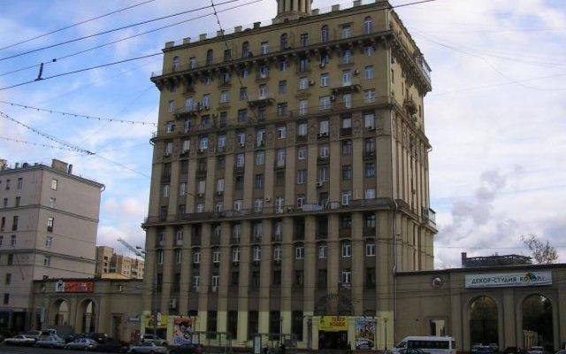 Гостиница МосАпарт в Москве 1 отзыв об отеле, цены и фото номеров - забронировать гостиницу МосАпарт онлайн Москва вид на фасад