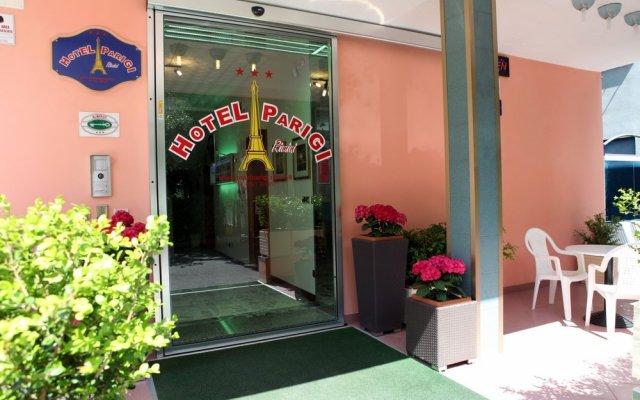 Отель Parigi Италия, Римини - отзывы, цены и фото номеров - забронировать отель Parigi онлайн вид на фасад