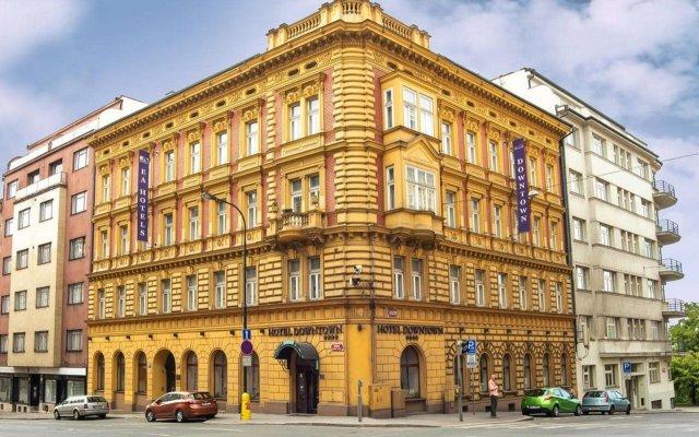 Ea Hotel Downtown Прага вид на фасад