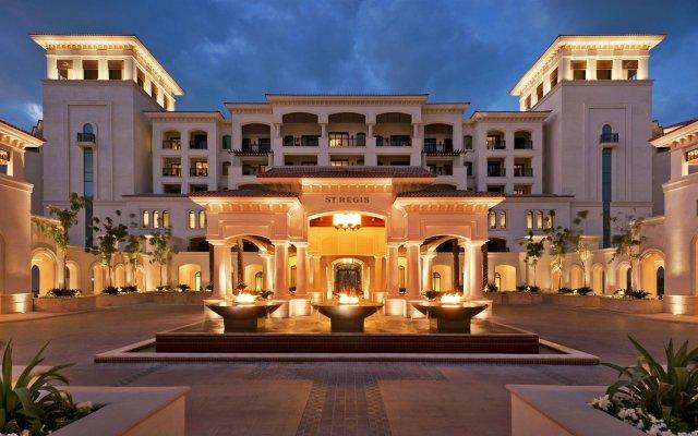 Отель The St. Regis Saadiyat Island Resort, Abu Dhabi вид на фасад